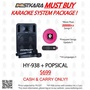 BESTKARA MUST BUY KARAOKE SYSTEM PACKAGE HY-938 + POPSICAL