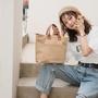 【Bfuming】日系 原創 素色 文青包 加厚 重磅 帆布包 帆布袋 托特包 手提包 好看耐用耐裝