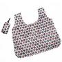 外單 便捷可折疊尼龍購物袋大容量超市環保袋背心袋買菜手提袋