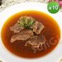 【老爸ㄟ廚房】湯頭濃郁紅龍牛肉湯(450g/包  共10包)