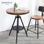 小確幸❤復古工業風桌椅組合loft桌子辦公室會議桌酒吧奶茶咖啡廳小圓桌
