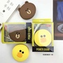 Minimalist 8800 mAh line friends Mr brown / brown bear / sally duck portable charger / power bank po