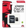 Authentic Sealed Kingston Class 10 80MB/S 256GB Micro SD MSD Memory Card 256G