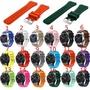 三星S3 Classic/Frontier 矽膠錶帶22mm手錶運動錶帶快拆錶帶MOTO LG 華碩錶帶