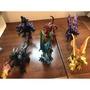 二手玩具 六隻噴火模型飛龍組 六隻划算唷 (好市多購入)