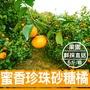 【台灣鮮果】蜜香珍珠砂糖橘(五斤裝/箱)