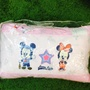 nacnac麗嬰房 Disney 迪士尼 兩用睡袋-粉色 米奇米妮棒球