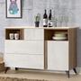 《Homelike》格林4尺餐櫃(含石面)