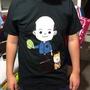 韓國瑜 【賣菜郎Q版】短袖T恤,超人氣商品,我們跟著禿子走