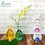 多色選~【美的空間】透明水晶壓克力 雅緻圓潤花瓶造型花瓶#8100C 造型花瓶花器 創意透明瓶 居家擺件裝飾 台製