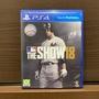 The Show18 二手9.5成新PS4盒裝 美國大聯盟 MLB