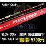 苗栗-竹南 【聯合釣具】Major Craft SLOW DRAW 槍柄 慢速鐵板竿  SDB-634 SP