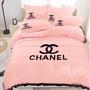 HuiHui 香奈兒Chanel雙人床包四件組✨