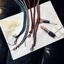 ((新品上市))現貨編織雙色手機/相機掛繩
