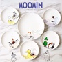 🍺J.Market🍺 嚕嚕米6件套陶瓷盤可愛點心盤Moomin餐盤