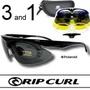 【RIPCURL】 UF2025 漸層黑 寶麗萊 運動 偏光 3+1 太陽眼鏡 抗藍光 抗UV 重機 機車 自行車 釣魚