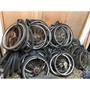 大量報廢腳踏車輪子報廢單車輪子報廢自行車輪子輪胎輪框輪圈