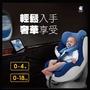 二手全新嬰兒安全座椅 酷咕鴨經典ISOFIX安全座椅