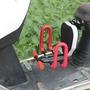 電動摩托車兒童座椅前置可摺疊 踏板電瓶車小孩寶寶嬰兒安全座椅  WD
