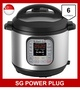 Best Seller Instant Pot Duo V2 7-in-1 Electric Pressure Cooker, 6L, 1000W, Brushed Stainless Steel/Black, 220-240V, Stainless Steel Inner Pot, SG 3-pin Plug