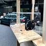 攤車 壓克力 展示櫃 風扇