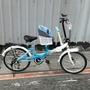最優品牌格楠臺灣製造親子腳踏車,【全配加裝安全兒童椅】6段變速20吋親子摺疊腳踏車,U型站立式停車架更穩