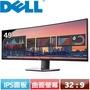 R1【福利品】DELL 49型 雙QHD曲面多工螢幕 U4919DW