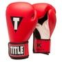 【拳運會】新款推出! TITLE 動力學系列 拳擊手套 耀眼紅