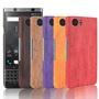 黑莓DTEK70復古木紋手機殼Keyone磨砂硬殼Dtek70半包保護殼男女