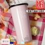 全家同款WESCO【誠製良品】普瑞斯 雙層不鏽鋼琺瑯杯450ml (櫻花粉) C492-45-P