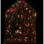 阿贊炳2561五九靈金符管板(裸牌附原裝廟盒)+阿贊鵬煞的達田雅琪
