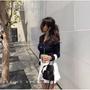 代購Prada手提包 Mini水桶包 普拉達肩背包 帆布女士側背包 女款時尚抽繩單肩包 Prada尼龍包 化妝包