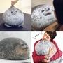 【快閃預購】YOU+MORE! X 大阪海遊館 海豹抱枕