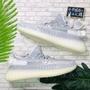 adidas YEEZY BOOST 350 V2 Static 天使 鞋帶 反光 平民 男女 EF2905