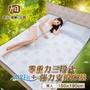 日本旭川AIRFit+重磅級零重力彈力支撐床墊-雙人