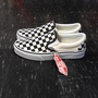 VANS Classic Slip On Blk&Chckerboard/Wht 棋盤格 懶人鞋 黑白 黑色 白色 方格