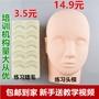 美睫嫁接睫毛工具初學者開店學員培訓專用假人頭模型基礎練習睫毛