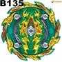 戰鬥陀螺 BURST#135  BA﹒Hr﹒Kp 天  Bushin  戰神  Ashura 阿修羅
