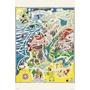 拼圖專賣店 日本進口拼圖 10-1291(1000片拼圖 嚕嚕米 慕敏河谷的地圖)