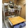 ELF-2818 CNC 四軸 3D雕刻機 二手 可雕 壓克力/電木板/ABS板/木板/fr4 電路板 pcb 木雕