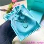 TIFFANY & Co. 蒂芙尼項錬 Return to Tiffany 系列銀飾心牌吊墜項鏈 經典心形藍心紅心項鏈