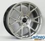 【小茵輪胎舘】KONIG RRF-10 18吋 新款 旋壓鋁圈 5孔車系適用 8.5J 銀