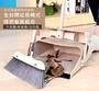 全防風無塵掃把畚箕套裝組 (掃把x1、畚箕x1) /不傷地面/收灰塵更徹底輕鬆收納/不佔空間