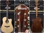 ♪♪學友樂器音響♪♪ OKANA OG-86S 雲杉面單板民謠吉他 木吉他 41吋D桶身切角