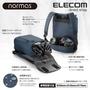 ELECOM normas休閒多功能後背包-藍