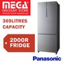 PANASONIC NR-BX468XSS1/GWS1/GKS1 369L 2 DOORS REFRIGERATOR / FRIDGE / LOCAL WARRANTY