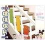 麗嬰兒童玩具館~兒童居家安全.小熊/小皖熊寶貝樓梯護欄.樓梯擋片(美觀安全耐用)
