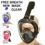 供Halongwind FREE BREATH通氣管口罩清除大人使用的小孩灌溉用水中的口罩海全部的面罩黑色藍色粉紅 threelove