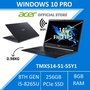 Acer Travelmate TMX514-51-55Y1 Thin and Light Business Laptop (Windows 10 Professional)