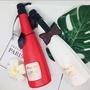 熱銷NO.1沙龍店專用SPIZO香檳水潤洗護系列 規格:【洗髮精(白)、修護素(桃)】各一瓶 390元